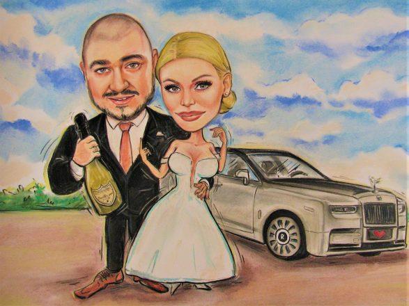 Podarak_za_svatba_karikatura